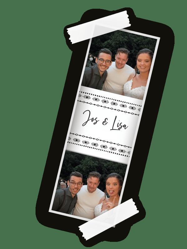 fotostrips photobooth fotoboot automaat huren